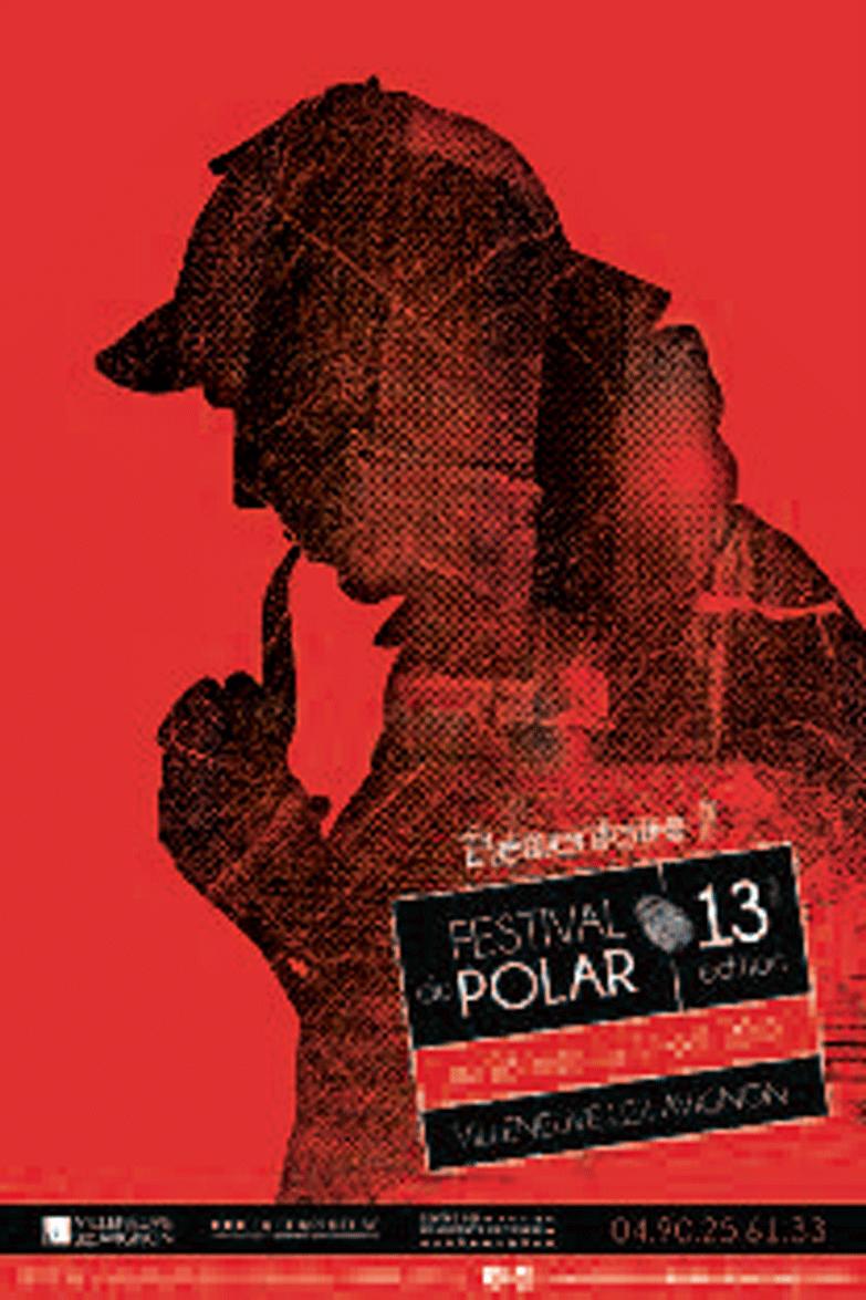 Affiche du festival du polar 2017 © Agence L'Eau à la bouche