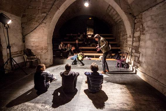 Classes théâtre © Alex Nollet - La Chartreuse