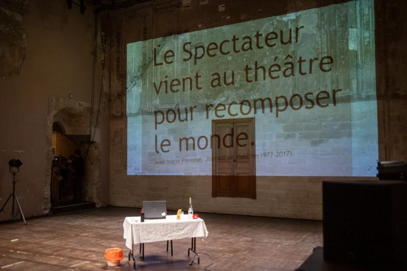 Classe théâtre © Alex Nollet/La Chartreuse