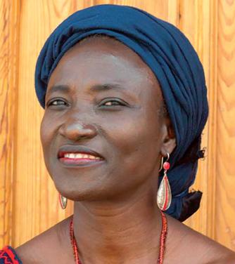 Odile Sankara © Élise Fitte- Duval