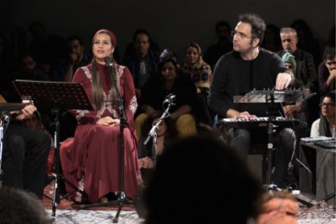 Mina Deris, Hesam Naseri © Zeitgenössische Oper Berlin