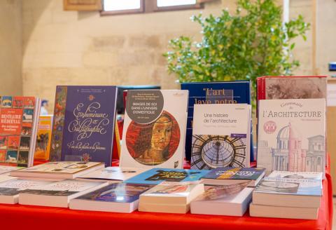 librairie de fêtes © Alex Nollet / La Chartreuse