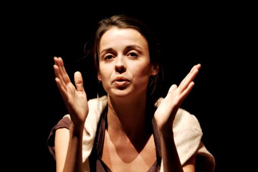 Céline Delbecq © François Vila