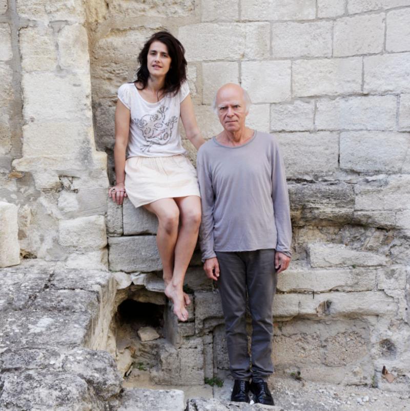 Marie Vialle et Pascal Quignard © Richard Schroeder