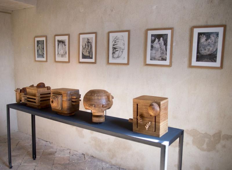 Sculptures Michel Andrault - photo © Alex Nollet - La Chartreuse