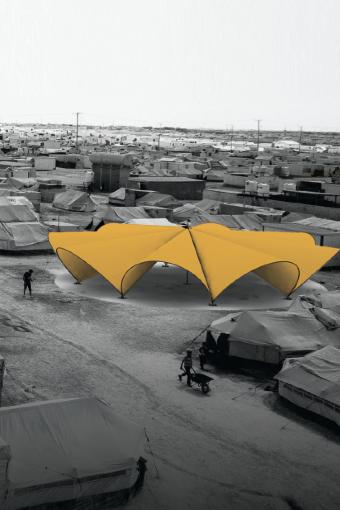 Shelter* L'Architecture face à l'urgence © Leo bettini oberkalmsteiner et bonaventura Visconti di modrone