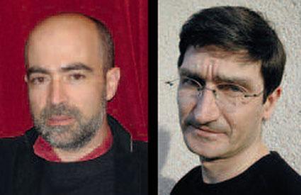 Ezéquiel Garcia-Romeu et Laurent Caillon © DR