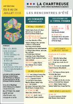 Programme Rencontres d'été 2018