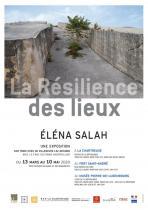 Affiche exposition La Résilience des lieux