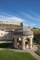 cloître saint-jean - photo Alex Nollet